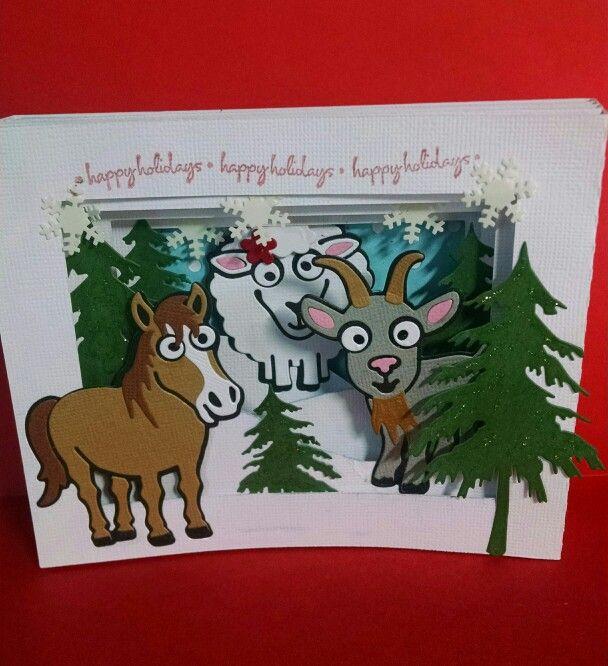 Happy Holidays With Karen Burniston New Farm Animals