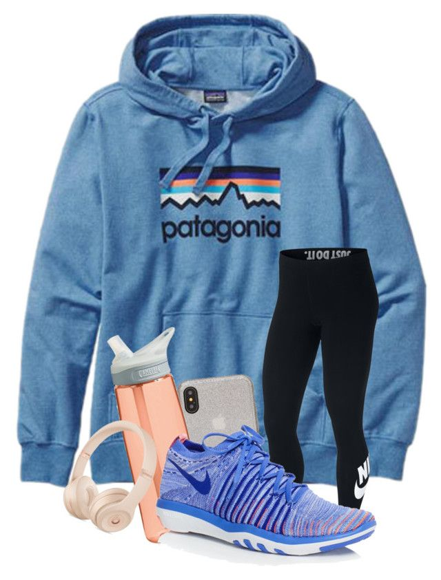 """""""QOTD : What is your favorite holiday?"""" by meinersk45195 ❤ liked on Polyvore featuring Patagonia, NIKE, Kate Spade and CamelBak"""