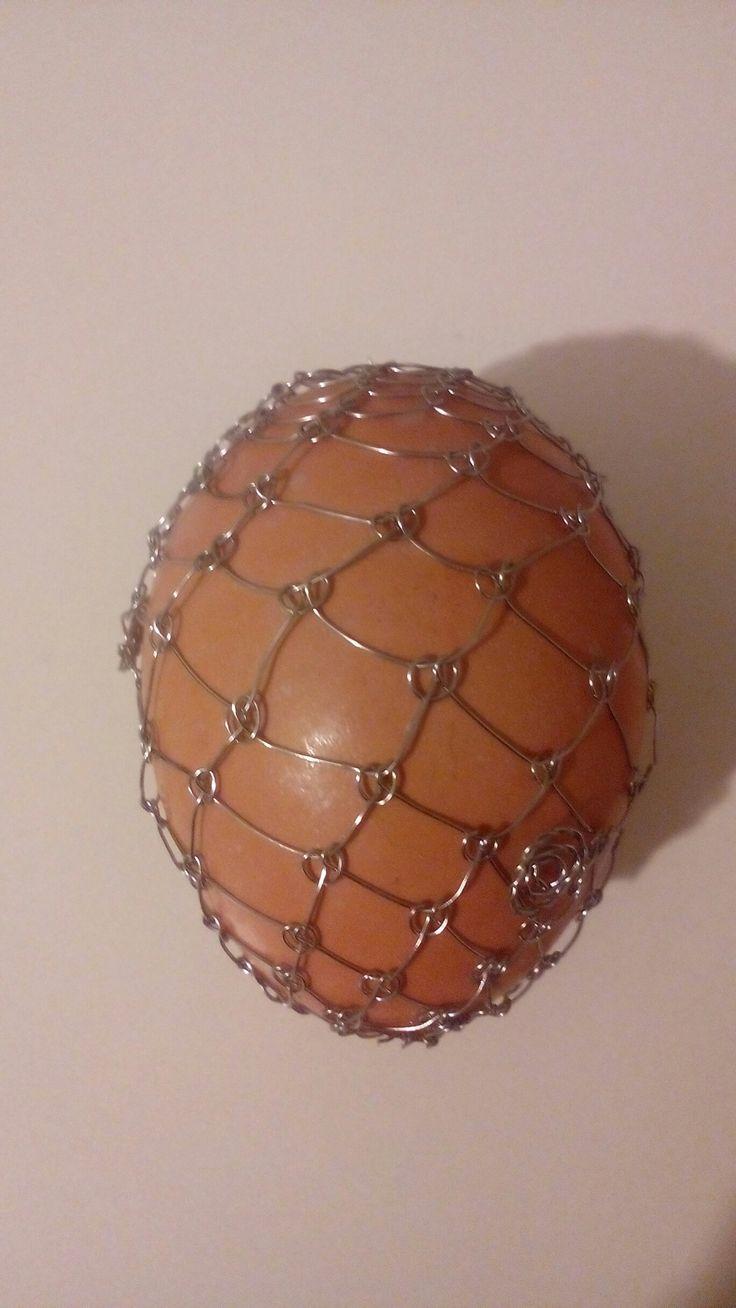 Vajíčka - nerez - začátky