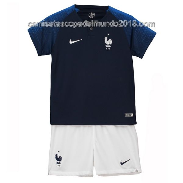 fa2287862 Primera Conjunto Completo Camiseta Francia Niños Mundial 208 ...