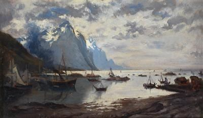 Adelsteen Normann - Norwegian fjord landscape