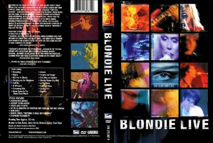 Full DVD Blondie Live