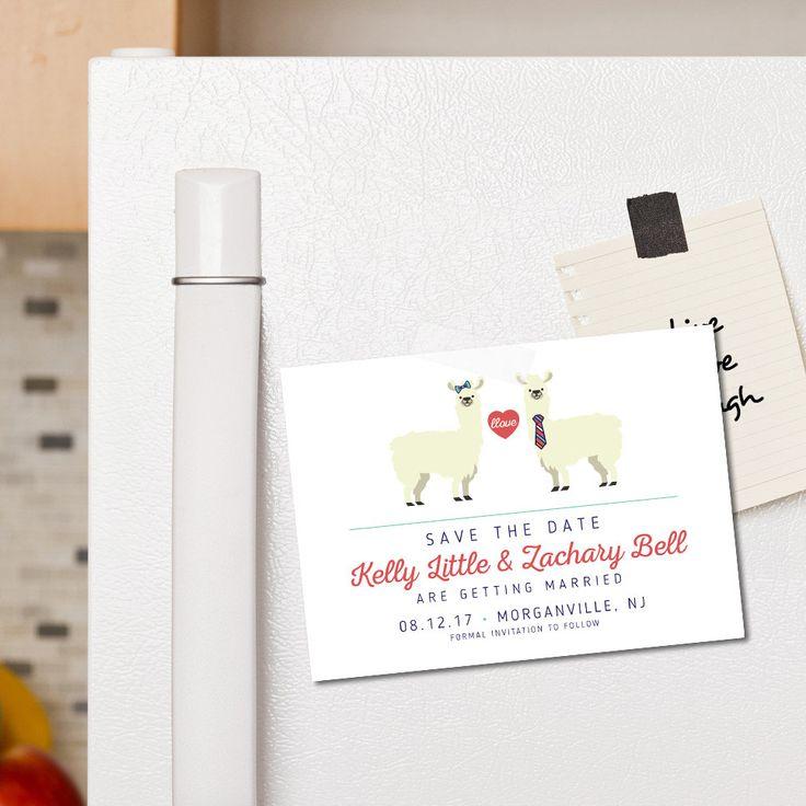 Llama Save the Date, Printable, Custom, Llama Love, Cute, Funny, Alpaca, Llama Couple, Llove | Llama & No Drama by attitudeandgratitude on Etsy https://www.etsy.com/listing/488906034/llama-save-the-date-printable-custom