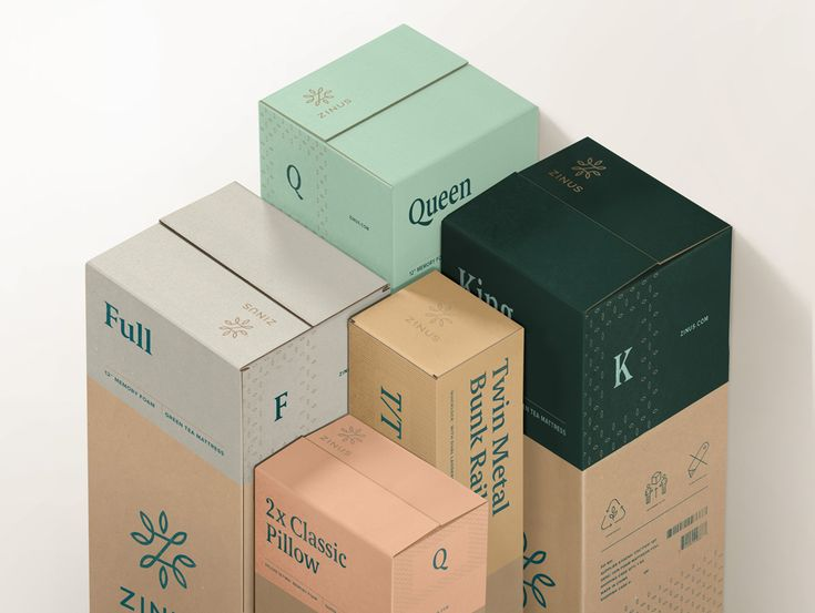 New Logo, Identity, and Packaging for Zinus by Jack Morton SF and Stout