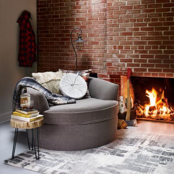 Globe Chair -Bumps Charcoal - 3