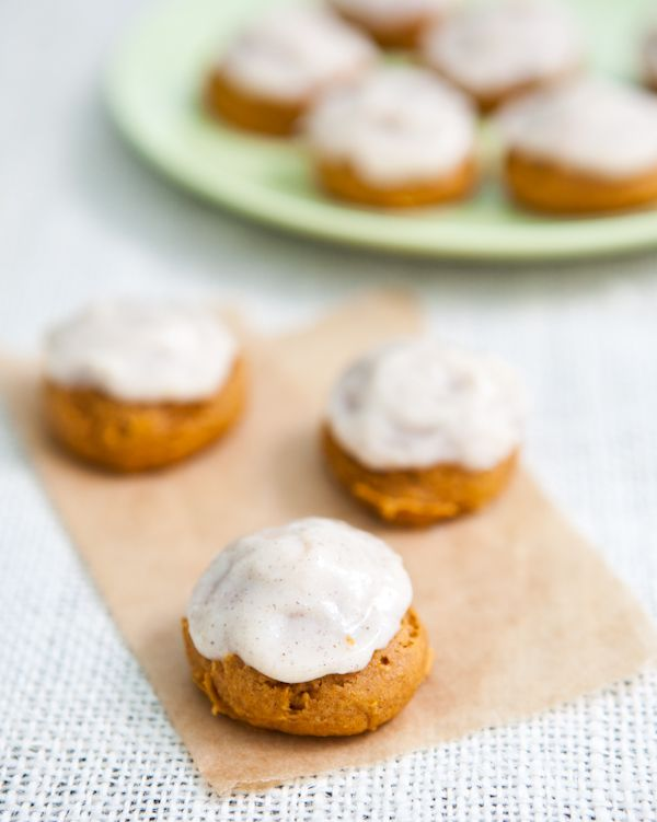 Pumpkin Spice Cookies with Cream Cheese Frosting by EclecticRecipes ...