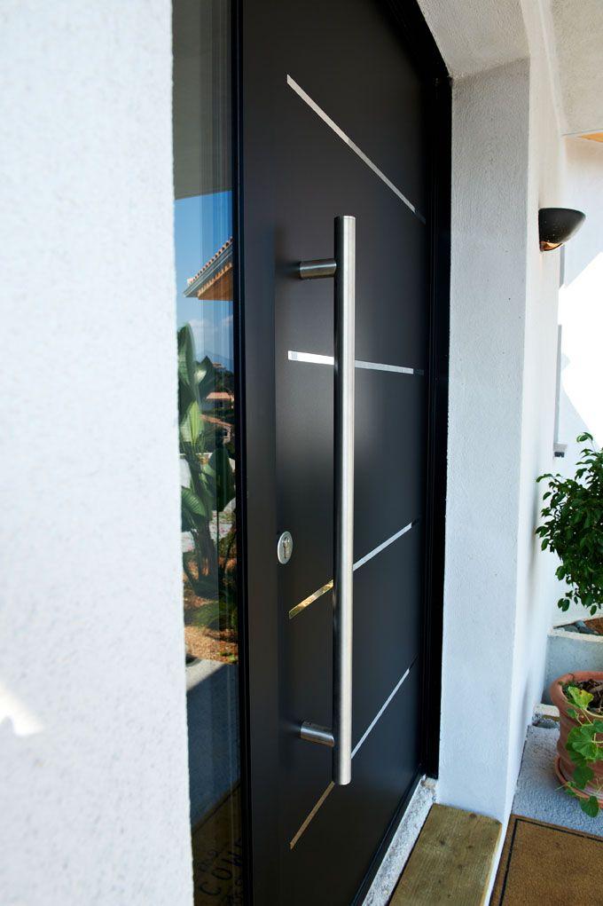 21 best belles r alisations de portes d 39 entr e zilten Porte entree aluminium
