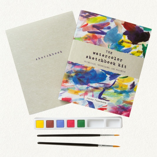 Watercolor Sketchbook Kit - need to check out the website shopterrain.com