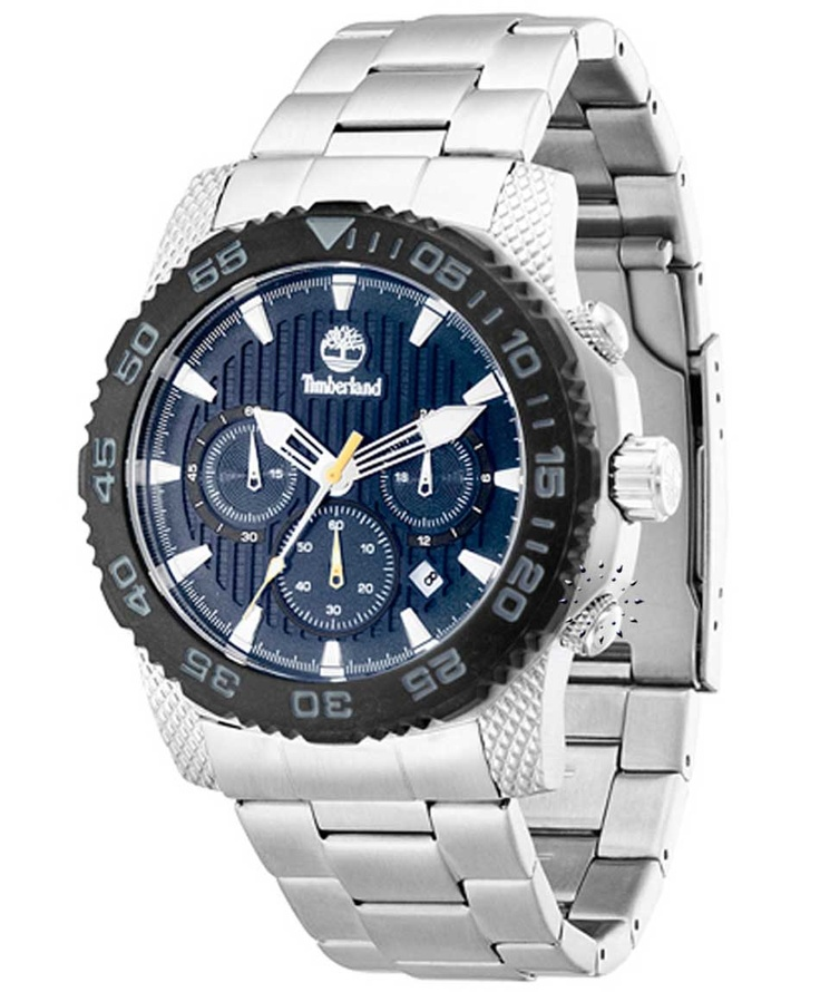 TIMBERLAND Galehead Stainless Steel Bracelet Μοντέλο: T13612JSSB-03M Τιμή: 194€ http://www.oroloi.gr/product_info.php?products_id=32760