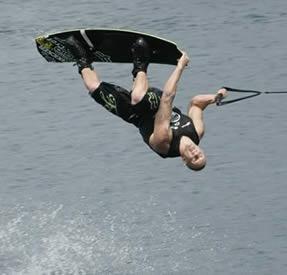 Okanagan Lake Wake Boarding