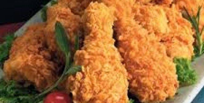 kentaki chicken for luch...