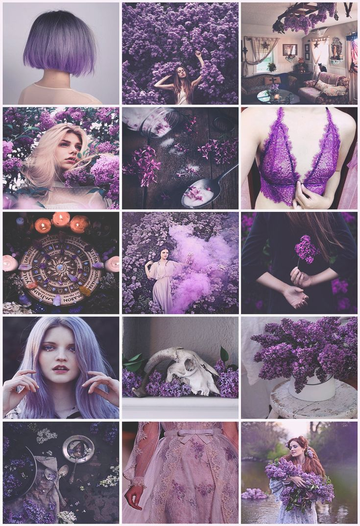 Lilac Witch Aesthetic Purple Aesthetic Witch Aesthetic