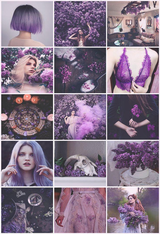 Room Ideas Aesthetic Purple