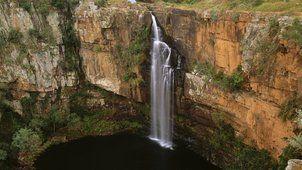řeky Sabie padá transvaal Jižní Afrika...