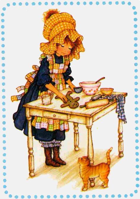 adorable petite pâtissière...
