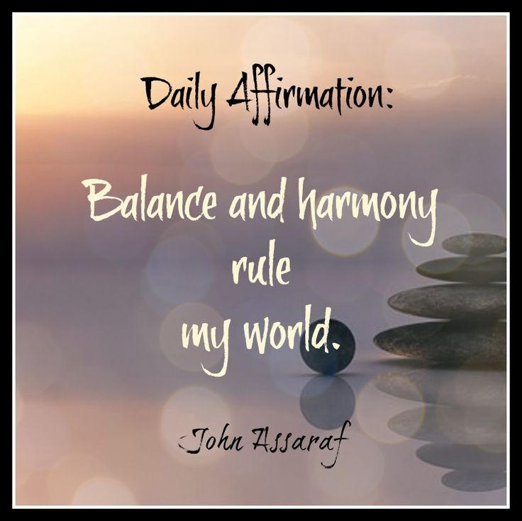 Image result for harmony with authentic self affirmations pics
