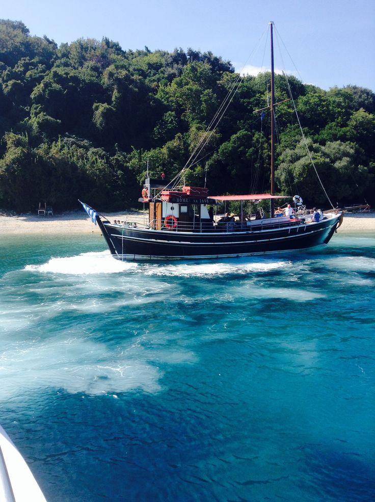 Pirate ship #kassiopi #Corfu #Greece #vacation