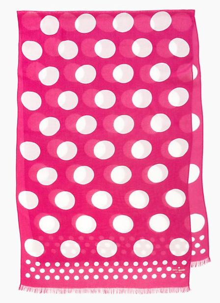 New Kate Spade Scarf for Fall!