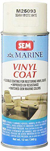 News Videos & more -  Amazon Books - SEM M25093 Sea Ray Mystic White Marine Vinyl Coat - 12 oz. #Amazon #Books #Music #Videos #News