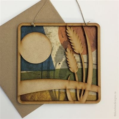 wheat - Greeting Card/Wall Art by Shirley Lloyd-Davies, Dundee Designs Inc.