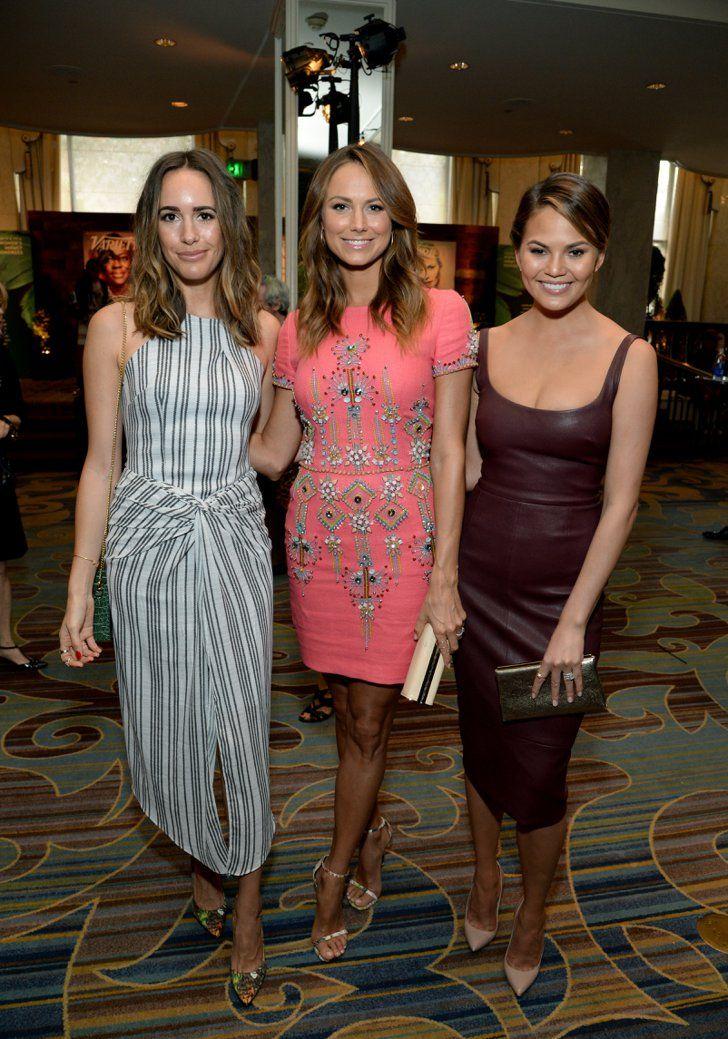 Pin for Later: Les Stars les Plus Influentes d'Hollywood Se Sont Retrouvées à la Soirée Power of Women Louise Roe, Stacy Keibler et Chrissy Teigen