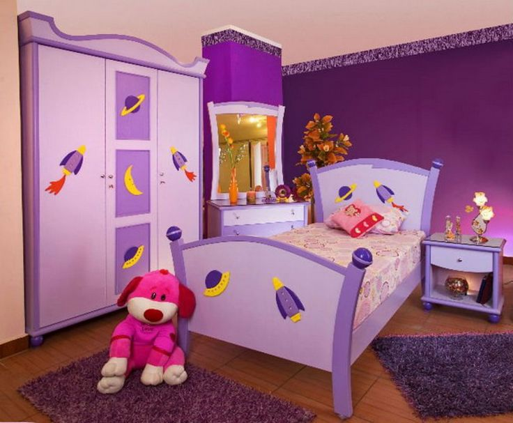 Kids Bedroom Ideas With Purple Kids Bedroom Furniture Sets Picture