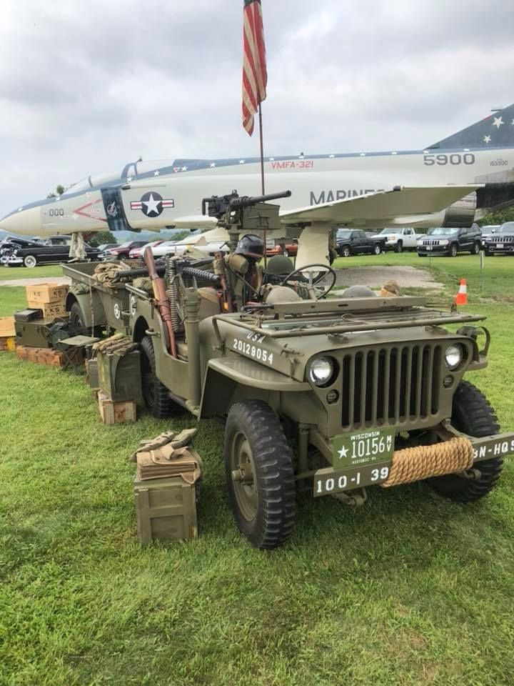 Joel Ponty Shared This Photo Of One Of The Jeeps From The Ponty Collection Wwii Vehicles Willys Jeep Military Vehicles