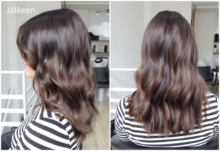 Ruskeat hiukset, hiusmuutos - väri-inspis/colour inspiration