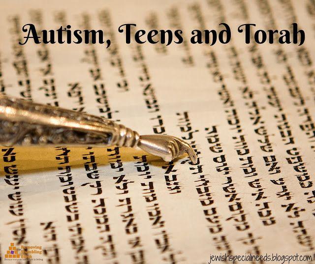 Autism, Teens and Torah; Removing the Stumbling Block