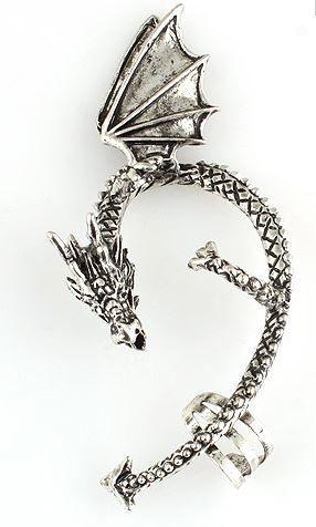 Dragon Ear Cuff, AU$2.00