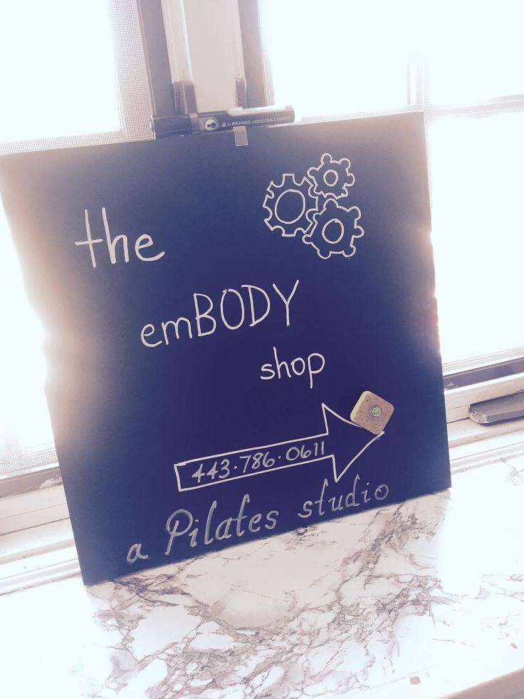 The emBody Shop - New Pilates Studio in Easton, MD
