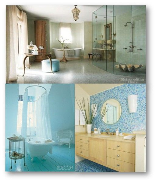 10 Beach House Decor Ideas Themed Bathroom Decoration: 10 Best Sea Glass Door Knobs Images On Pinterest