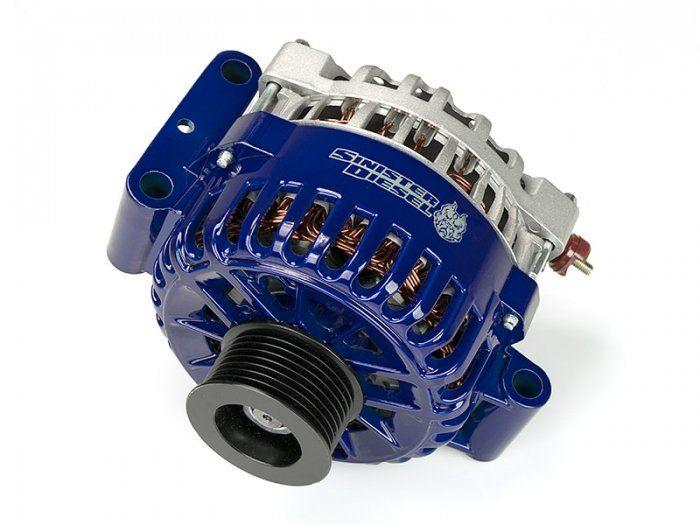 Sinister Diesel Sinister Diesel 200 Amp Oem High Output Alternator For 2003 2007 Ford 6 0 Powerstroke Powerstroke Diesel Alternator