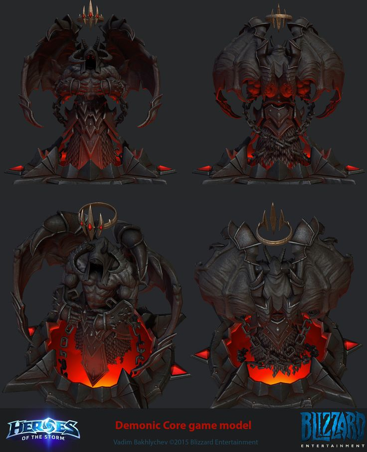 ArtStation - Heroes of the Storm character assets, Vadim Bakhlychev