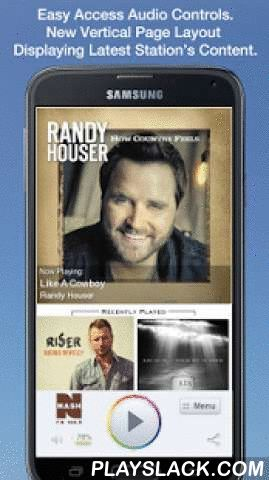 NASH FM 106.5  Android App - playslack.com ,  Never be without your favorite radio station. NASH FM 106.5 is proud to present our OFFICIAL radio app. Listen to us at work, home or on the road. Install our app and get instant access to our unique content, features and more!- New design and interface- See current and recently played songs and up to date station and local news on a single screen- Get notifications and single click access to any station promotions or contests- View station's…