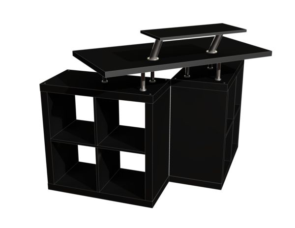 skrivepult ikea finest new clip in place with skrivepult. Black Bedroom Furniture Sets. Home Design Ideas