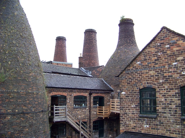 Stoke -on -Trent... home of the potteries, and where I was born, my parents and sibs all still live here...