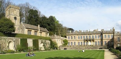 Samuel Hauduroy was a French Huguenot architect active in the UK in the late-17th and early-18th centuries.  In 1692 he designed the west front of Dyrham Park house in Gloucestershire, England, employed by its owner, William Blathwayt.