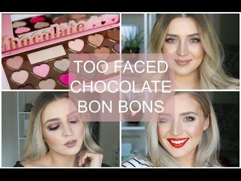 !Makeup. Base Teint Lumineuse + Too Faced Chocolate Bon Bons Palette + MAC Painterly Paint Pot + Dior Blackout Mascara + MAC Oak Lip Liner + Lise Watier Jennifer Fondant Lipstick.