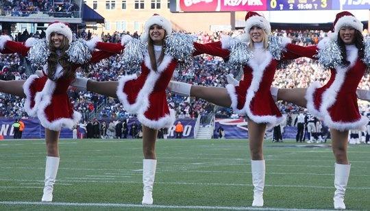2011 Patriots Cheerleaders vs. Dolphins