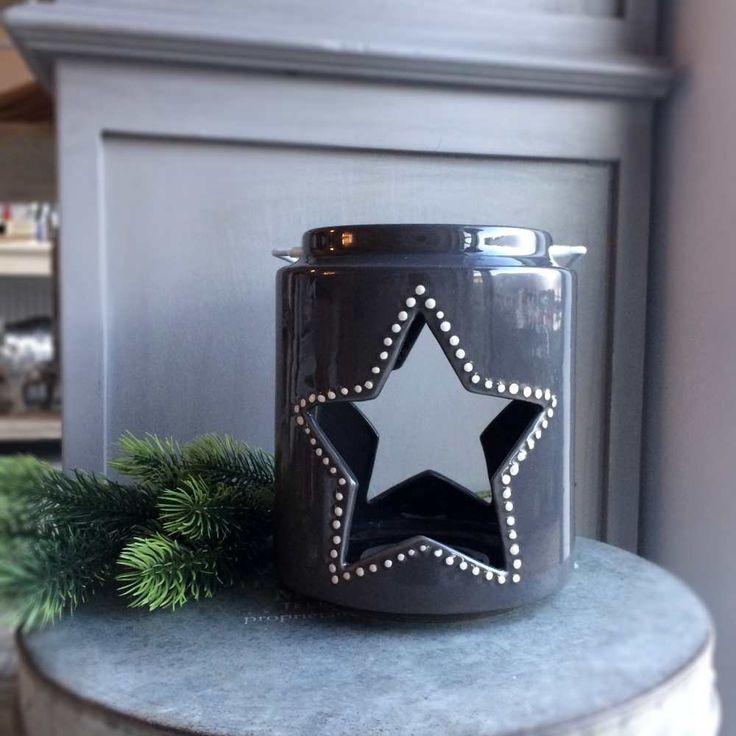 Gwiazdka - ceramiczny lampion w skandynawskim stylu - NieMaJakwDomu