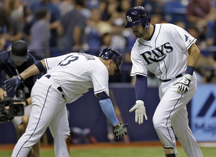 Curt Casali joined Greg Vaughn as the only Rays to hit two homers in back-to-back games. Casali has seven home runs for the season. Jake Odorizzi picked up the win going against former Ray, David Price. Rays 10-Tigers 2.  (7-28-15)