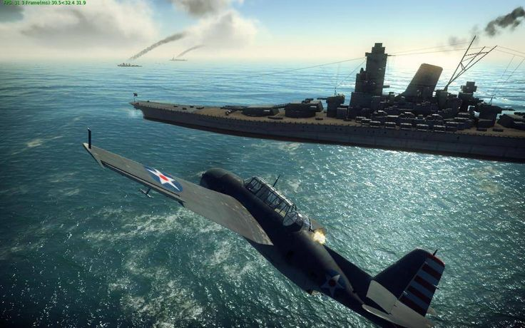 WAR THUNDER is a great mix of flight simulation and arcade air combat.