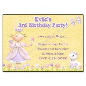 Princess Party Invitation | Birthday Party Invites