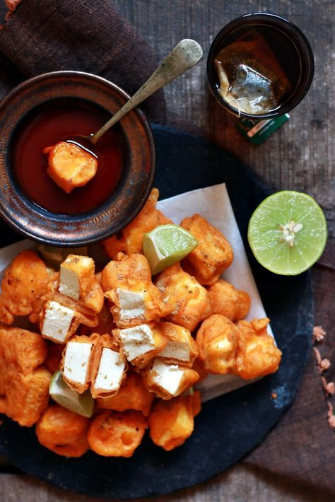 #newpost. Paneer pakora recipe. Quick and easy to make absolutely delectable punjabi paneer pakora recipe!