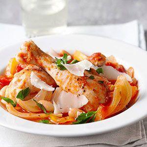 Italian Braised Chicken with Fennel and CannelliniBraies Chicken ...