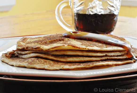 """I don't know if these are considered a """"traditional"""" French Canadian Pancake but this is an old family recipe. My Dad has been making these pancakes for as long as I can remember. When I was a kid, he used to roll them up, almost as you would a crepe. While I do love the [...]"""