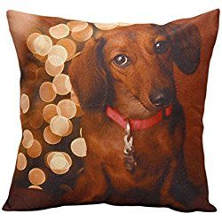 Beautyvan Comfortable Christmas Moetry Dog Sofa Bed Home Cushion Cover Decoration Festival Pillow Case
