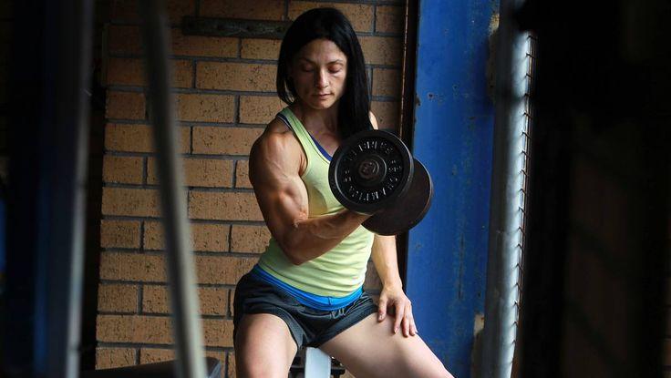 VIDEO: Champion bodybuilder pursues her dream
