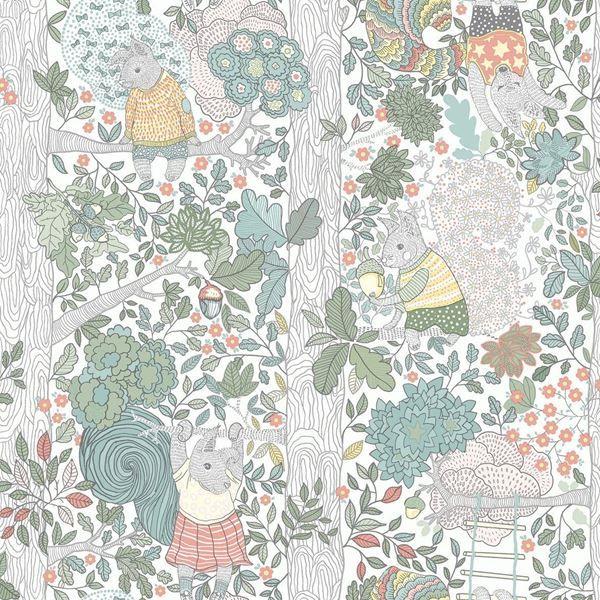 Scandinavian Designers Mini 6251 Nursery Wallpaper Design Kids Room Wallpaper Kids Wallpaper